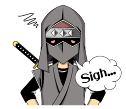 Ninja -SHINOBI- sticker #5940871