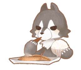 Cook and eat! sticker #5942848