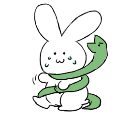 The rabbit which involves a snake