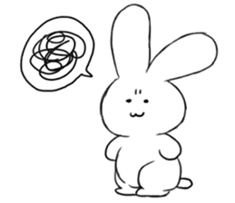 The rabbit which involves a snake sticker #5956460