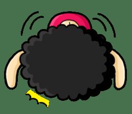 80's Afro Girl sticker #5957964