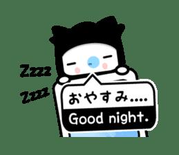 Kabusuke of ninja -Bilingual ver.- sticker #5967063