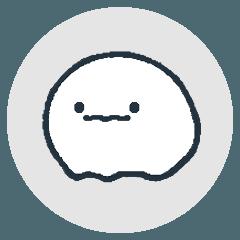 สติ๊กเกอร์ไลน์ Mysterious creature (nazo no ikimono)