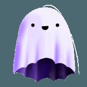 สติ๊กเกอร์ไลน์ Little Boo Ghost