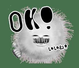 KesalanPatharan Horror Sticker sticker #5982245