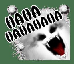 KesalanPatharan Horror Sticker sticker #5982258