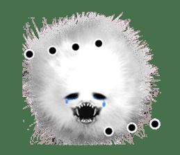 KesalanPatharan Horror Sticker sticker #5982263