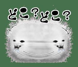 KesalanPatharan Horror Sticker sticker #5982272