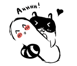 SNOWBOARDING Raccoon sticker #5984056