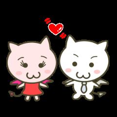 Pink Devil & White Devil