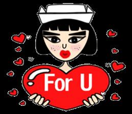 Ge Gee Nurse sticker #5987725