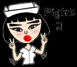 Ge Gee Nurse sticker #5987738