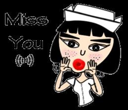 Ge Gee Nurse sticker #5987739