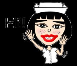 Ge Gee Nurse sticker #5987741