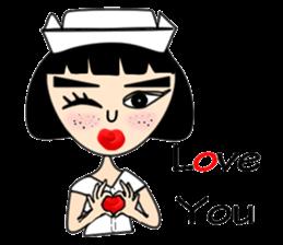 Ge Gee Nurse sticker #5987748