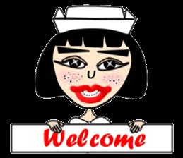Ge Gee Nurse sticker #5987754