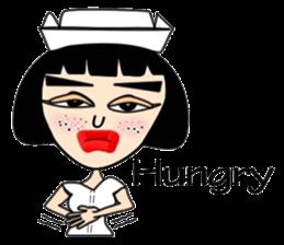 Ge Gee Nurse sticker #5987759