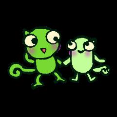 The Kurutakun Chameleon