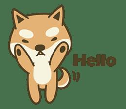 Shiba Inu(Shiba-Dog) Little Butt(cute) sticker #5992520
