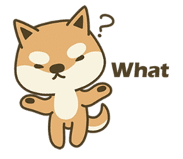 Shiba Inu(Shiba-Dog) Little Butt(cute) sticker #5992522
