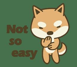 Shiba Inu(Shiba-Dog) Little Butt(cute) sticker #5992526
