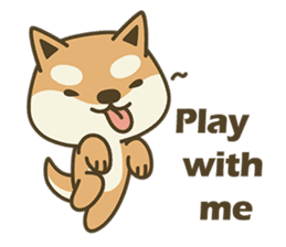 Shiba Inu(Shiba-Dog) Little Butt(cute) sticker #5992528