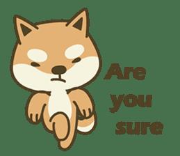 Shiba Inu(Shiba-Dog) Little Butt(cute) sticker #5992529