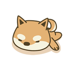 Shiba Inu(Shiba-Dog) Little Butt(cute) sticker #5992530