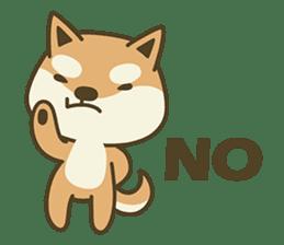 Shiba Inu(Shiba-Dog) Little Butt(cute) sticker #5992531