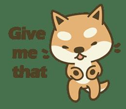 Shiba Inu(Shiba-Dog) Little Butt(cute) sticker #5992532