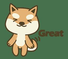 Shiba Inu(Shiba-Dog) Little Butt(cute) sticker #5992536