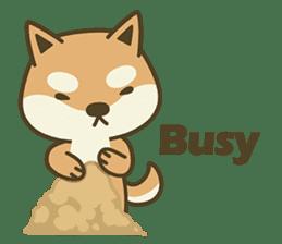 Shiba Inu(Shiba-Dog) Little Butt(cute) sticker #5992537