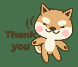 Shiba Inu(Shiba-Dog) Little Butt(cute) sticker #5992543