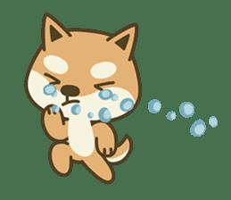 Shiba Inu(Shiba-Dog) Little Butt(cute) sticker #5992545