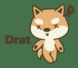 Shiba Inu(Shiba-Dog) Little Butt(cute) sticker #5992549