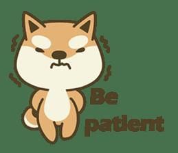 Shiba Inu(Shiba-Dog) Little Butt(cute) sticker #5992553