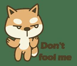 Shiba Inu(Shiba-Dog) Little Butt(cute) sticker #5992555