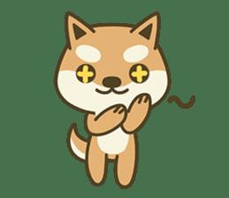 Shiba Inu(Shiba-Dog) Little Butt(cute) sticker #5992556