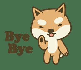 Shiba Inu(Shiba-Dog) Little Butt(cute) sticker #5992559