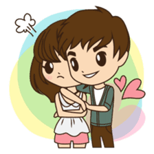 Anna in couple version sticker #5998787