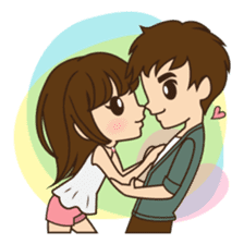 Anna in couple version sticker #5998794