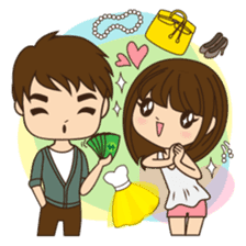 Anna in couple version sticker #5998795
