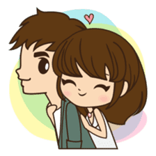 Anna in couple version sticker #5998800