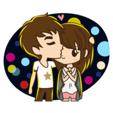 Anna in couple version sticker #5998804