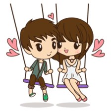 Anna in couple version sticker #5998805