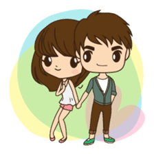 Anna in couple version sticker #5998809