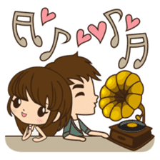 Anna in couple version sticker #5998817