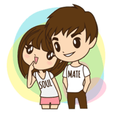 Anna in couple version sticker #5998819