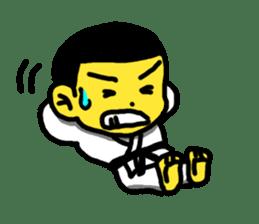 Karate Boy! 2 sticker #6000704