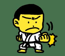 Karate Boy! 2 sticker #6000707